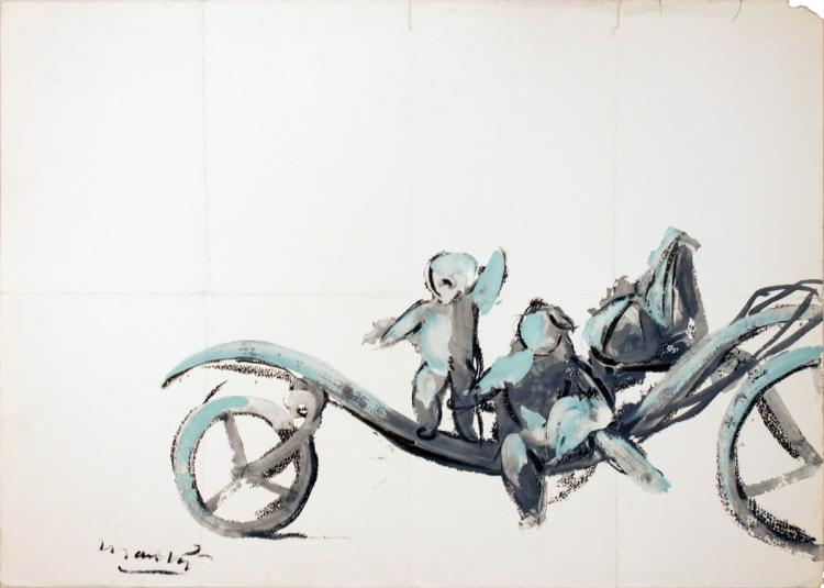 Giacomo Manzu - Hanover Gallery (no text) - 1969