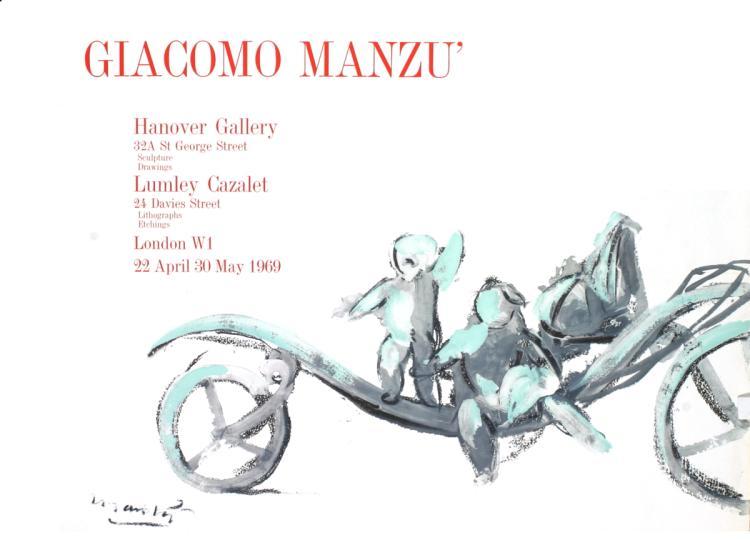Giacomo Manzu - Hanover Gallery - 1969