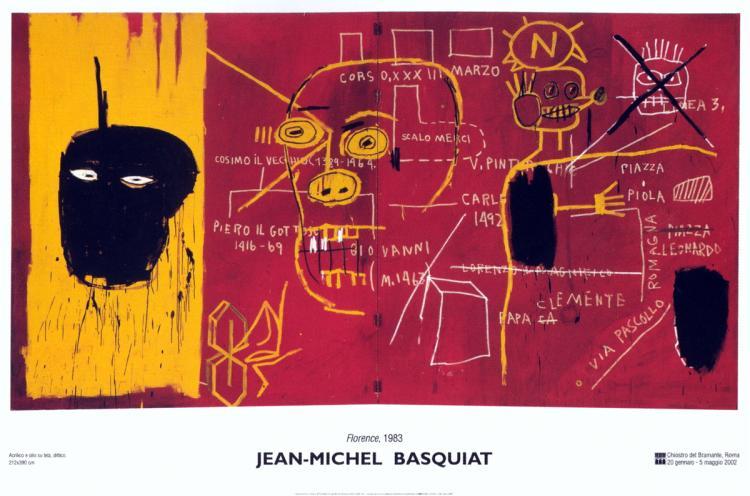 Jean-Michel Basquiat - Florence