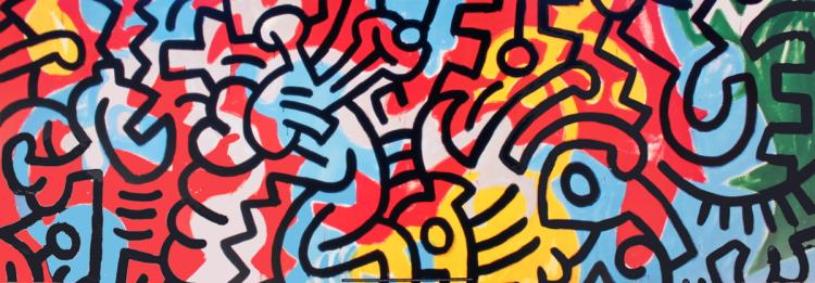 Keith Haring - Untitled (1987) - 1989