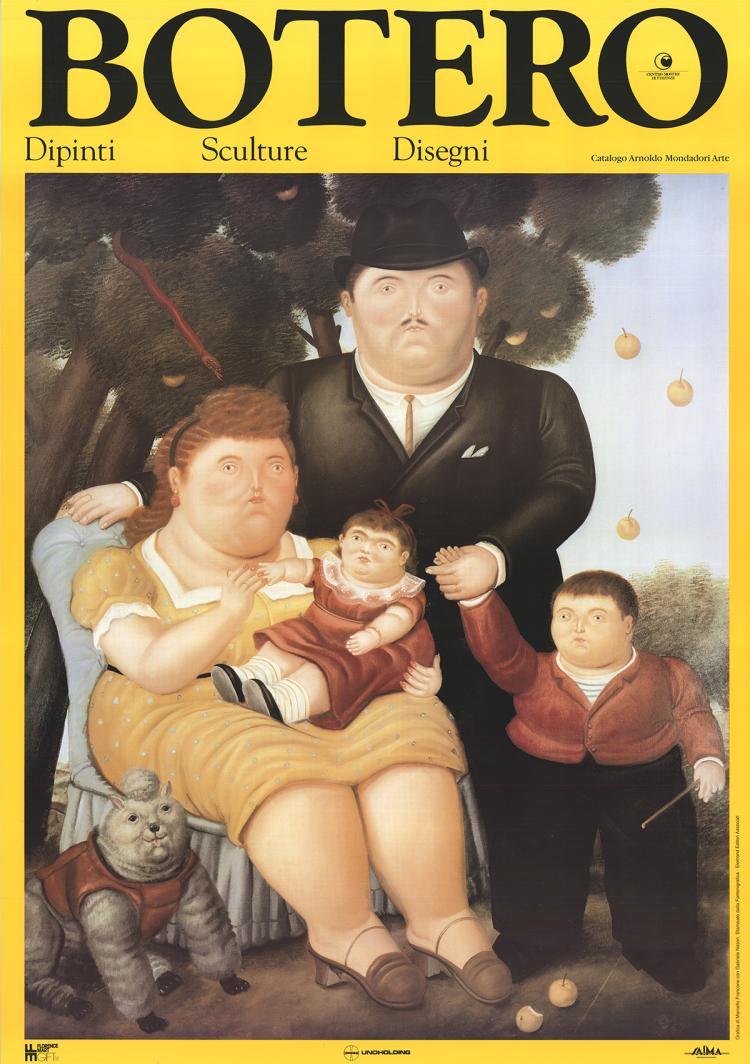 Fernando Botero - La Famiglia - 1991