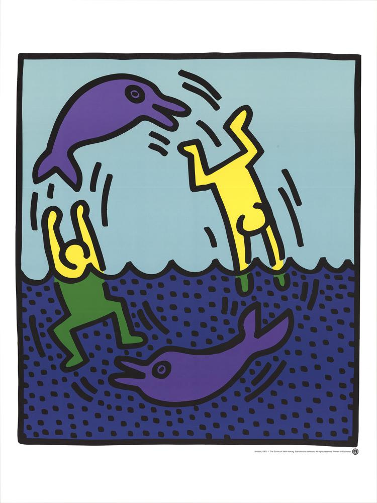 Keith Haring - Untitled (Delphine,1983)