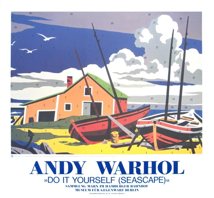 Andy Warhol - Do it yourself (seascape) - 1990