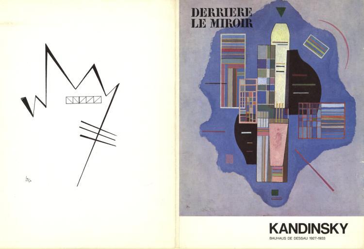 Wassily Kandinsky - Derriere Le Miroir No. 154 Cover - 1965