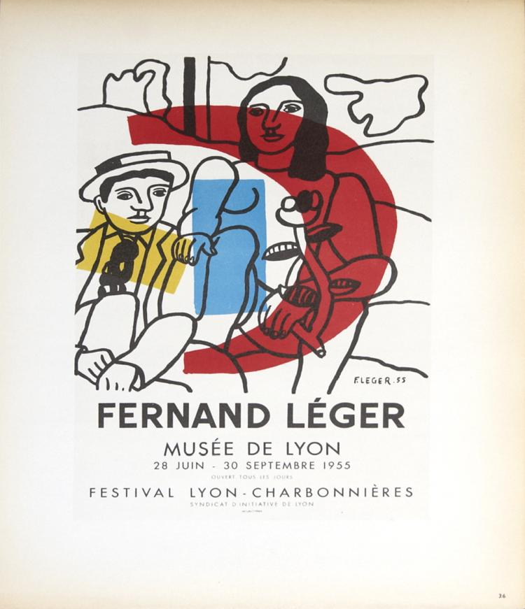 Fernand Leger - Musee de Lyon - 1959