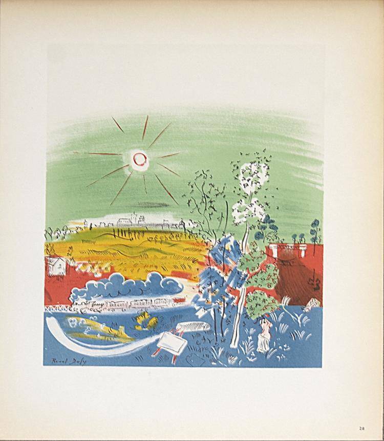 Raoul Dufy - Exposition d'Art Francais a Kaunas - 1959