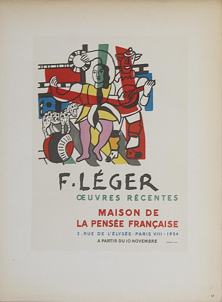 Fernand Leger - Maison de la Pensee Francaise - 1959