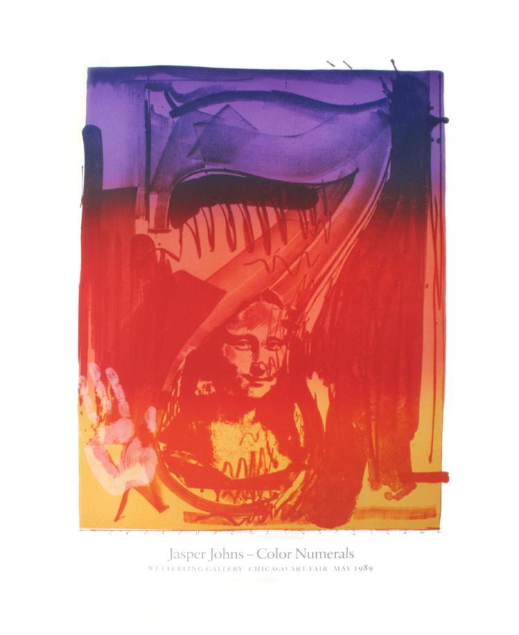 Jasper Johns - Figure 7 - 1989