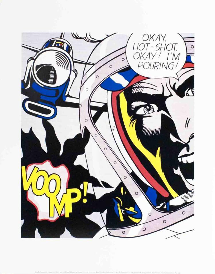 Roy Lichtenstein - Okay, Hot-Shot!