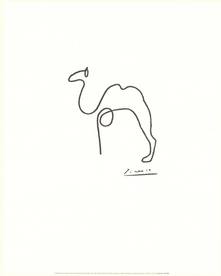 Pablo Picasso - The Camel - 2002