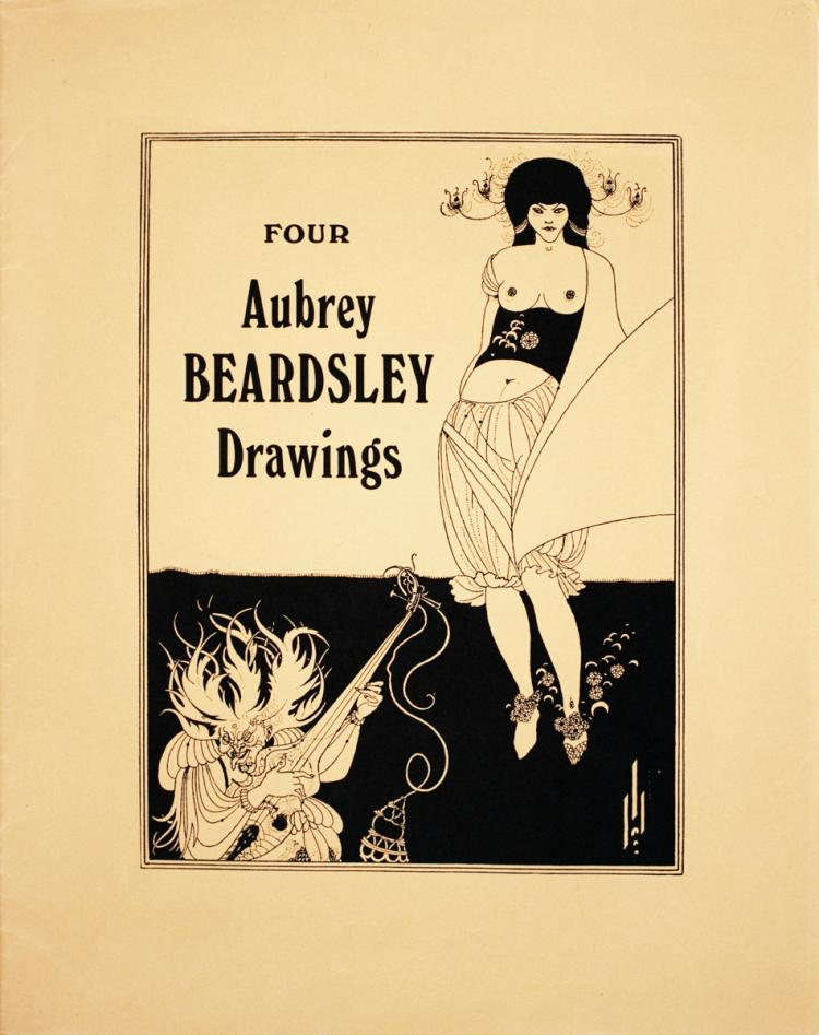 Aubrey Beardsley - Porfolio Cover - 1970