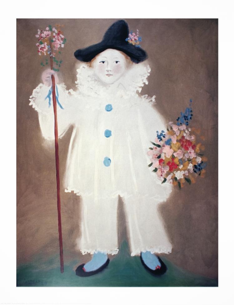 Pablo Picasso - Paul en Costume de Pierrot - 1997