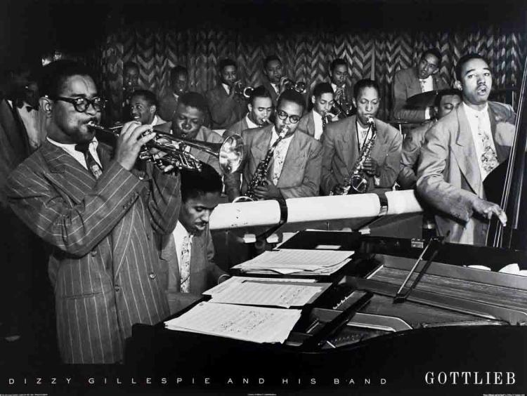 William Gottlieb - Dizzy Gillespie and His Band