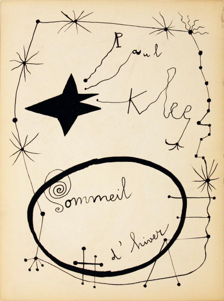 Joan Miro - Sommeil D'Hiver