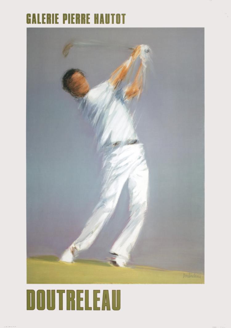 Pierre Doutreleau - Golf Player - 1986