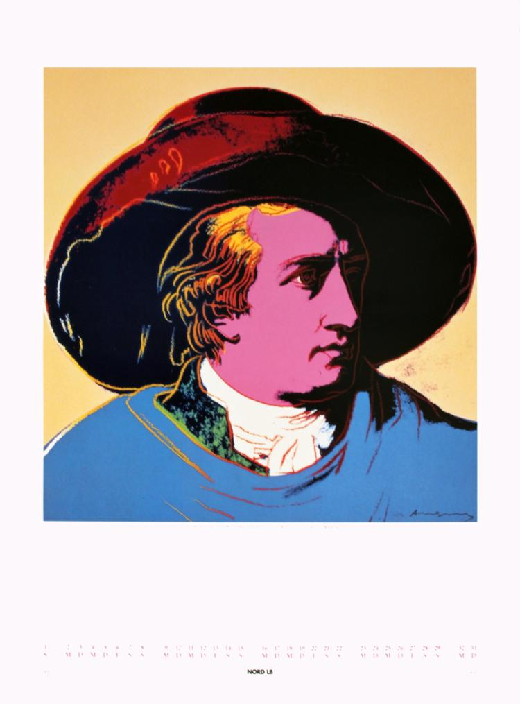 Andy Warhol - Goethe - 1990