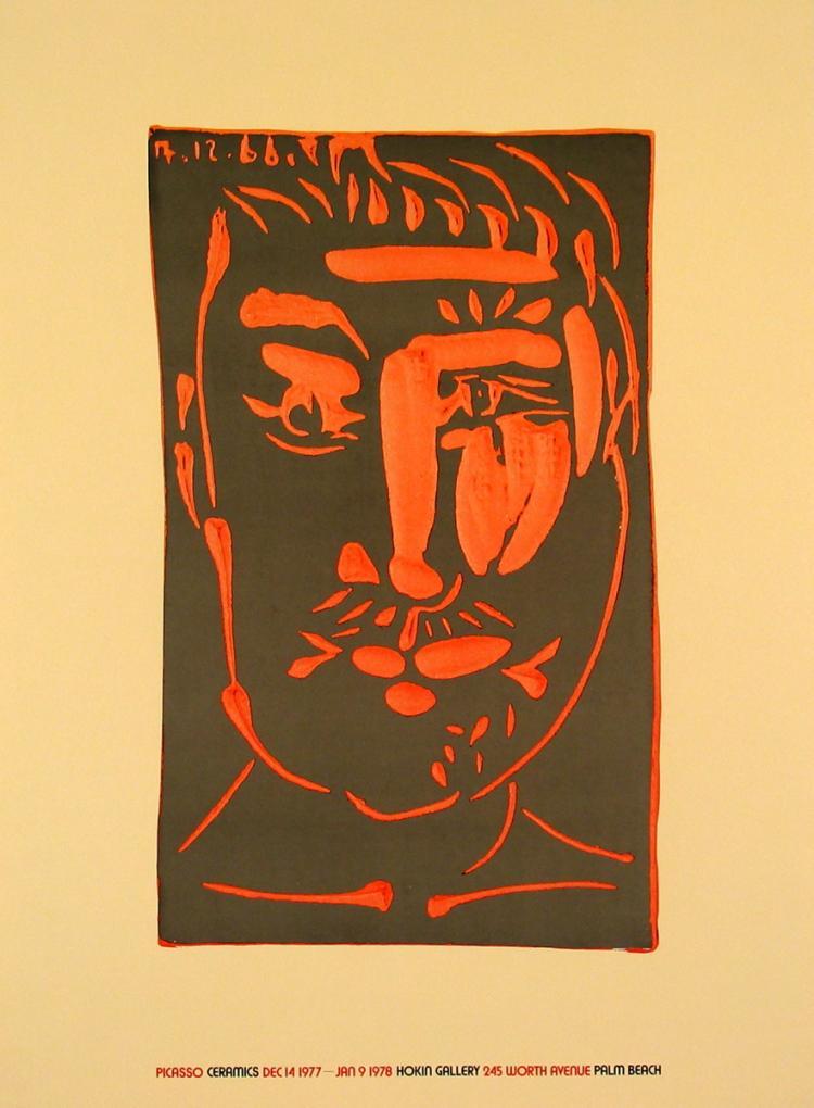Pablo Picasso - Ceramic - 1975
