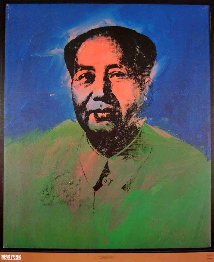 Andy Warhol - Mao - 1989