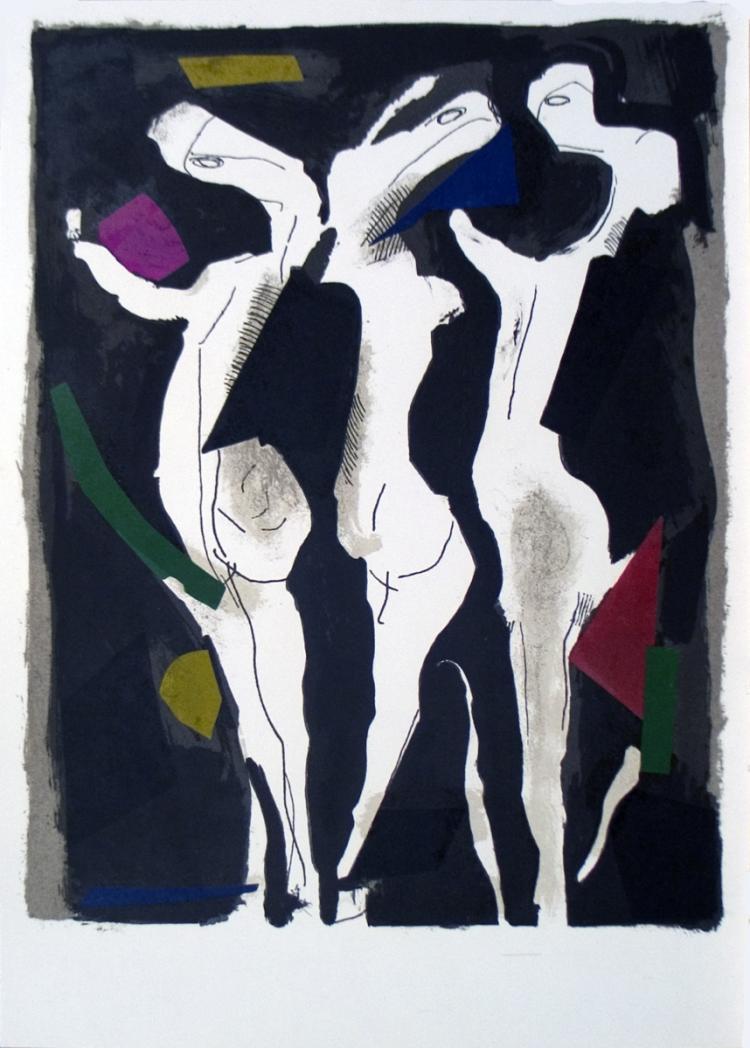 Marino Marini - Le Sacre du Printemps - 1973