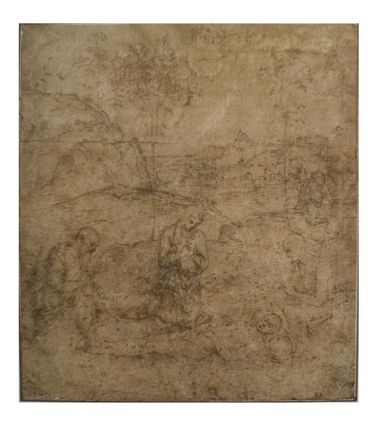 Pietro Perugino - The Lamentation for Christ
