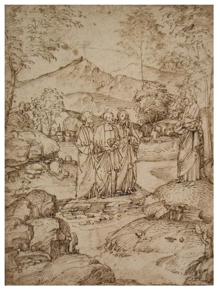 Marco Basaiti - Christ Taking Leave of the Disciples Peter, James, and John