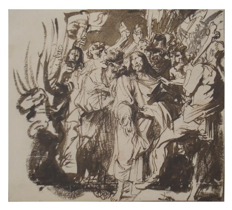 Anthony van Dyck - Christ Taken Captive