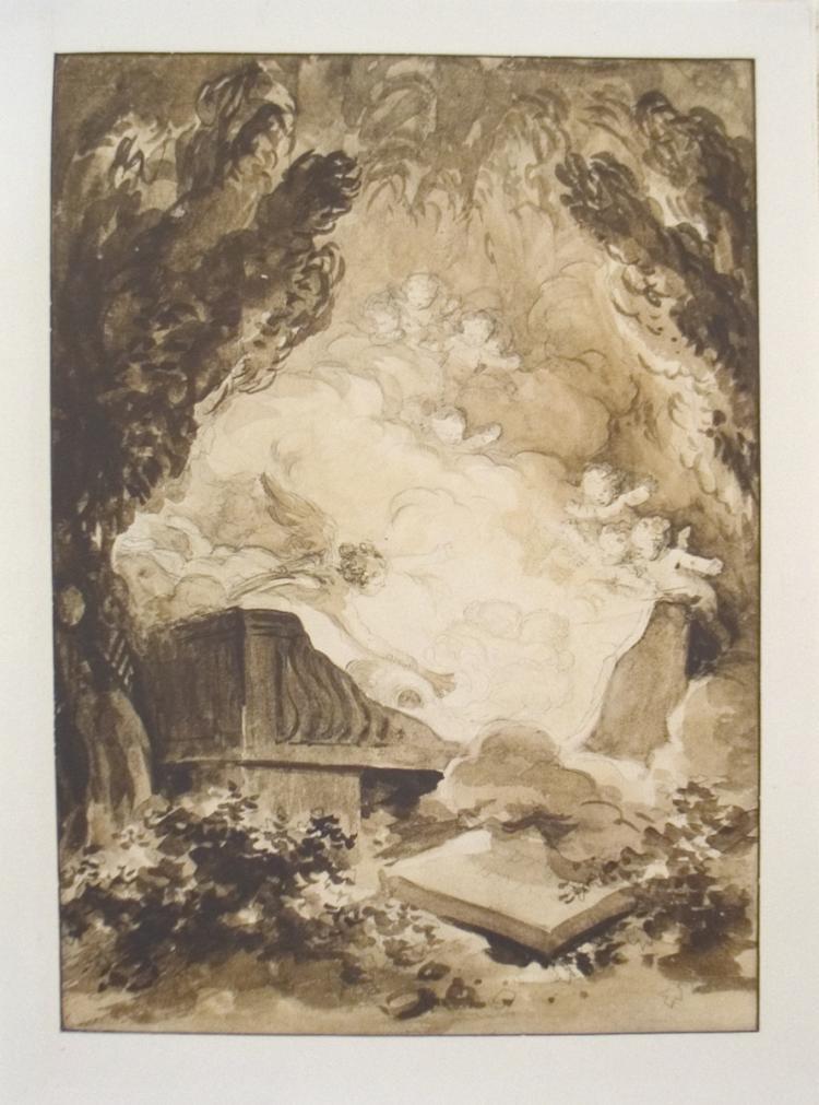 Jean Honore Fragonard - Love Scene