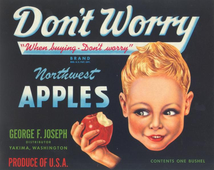 Northwest Apples Advertisement