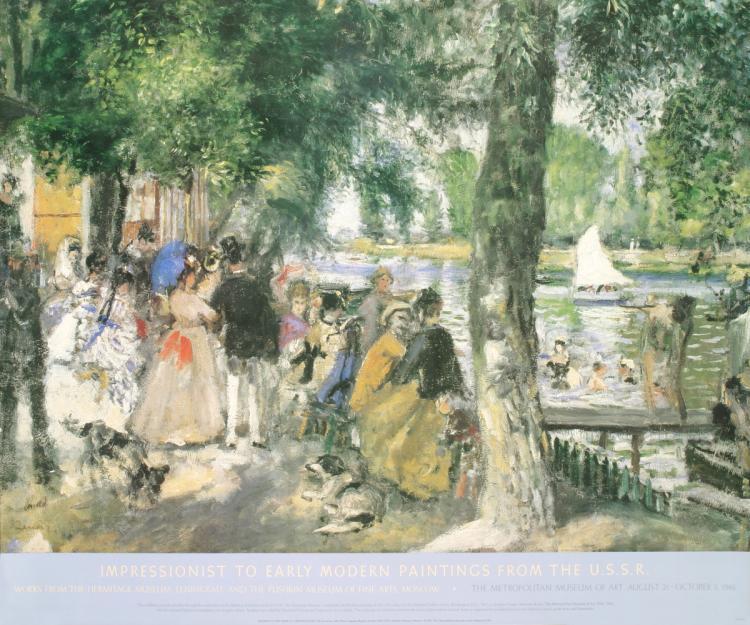 Pierre-Auguste Renoir - Bathing in the Seine