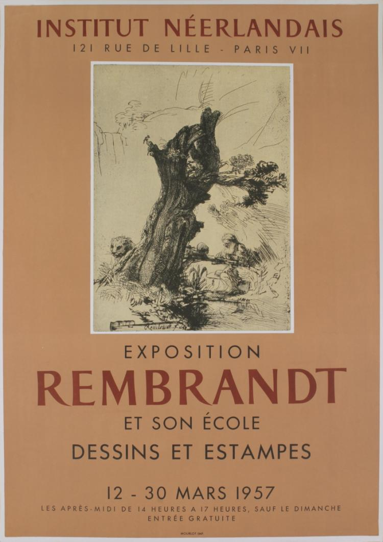 van Rijn Rembrandt - Institut Neerderlandais - 1957