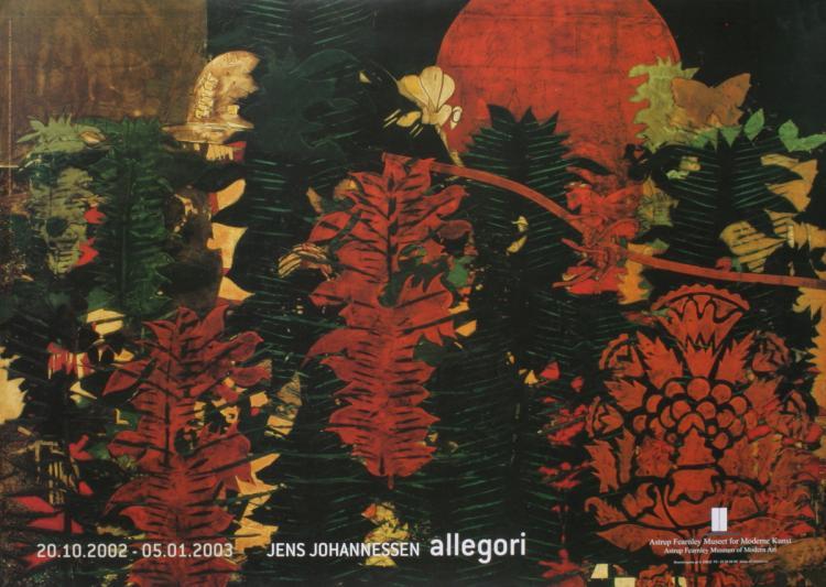 Jens Johannessen - Allegori, Madame Butterfly Detail