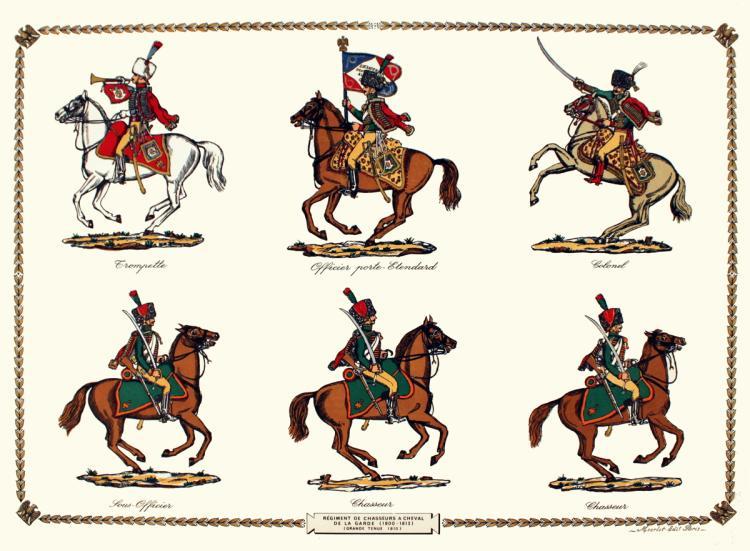 Regiment de Chasseurs a Cheval de la Garde