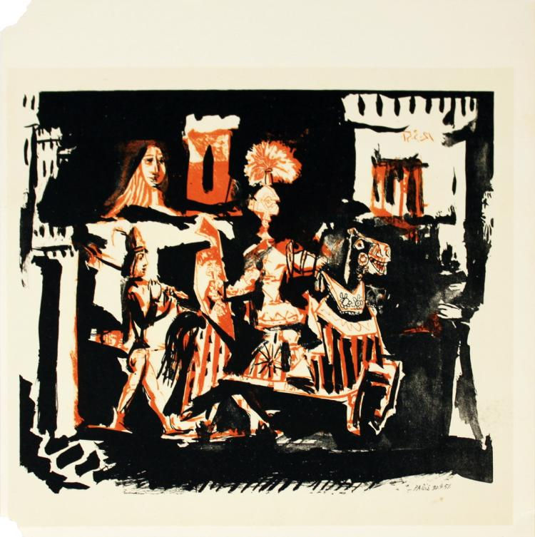 Pablo Picasso - Cavalier