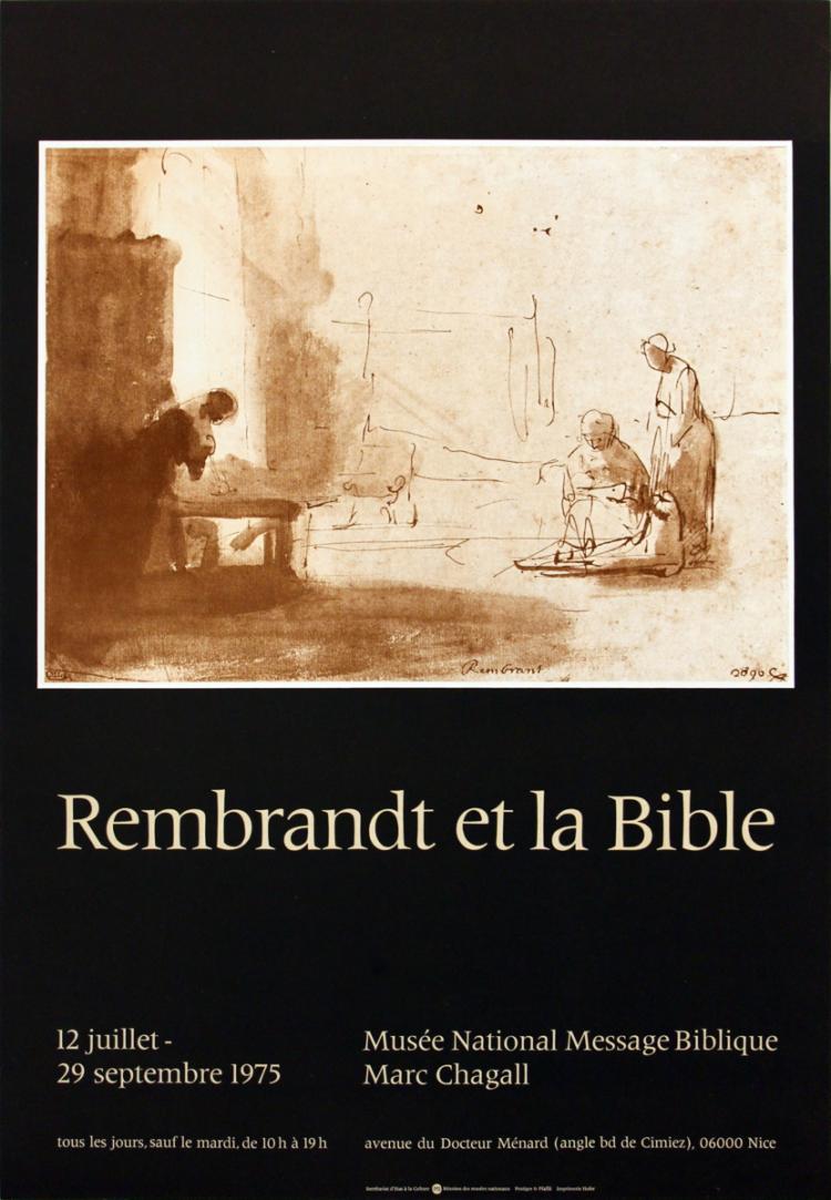 van Rijn Rembrandt - Et la Bible - 1975
