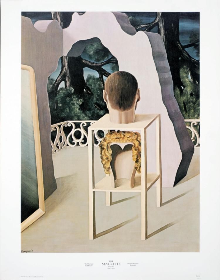 Rene Magritte - Le Mariage du Minuit