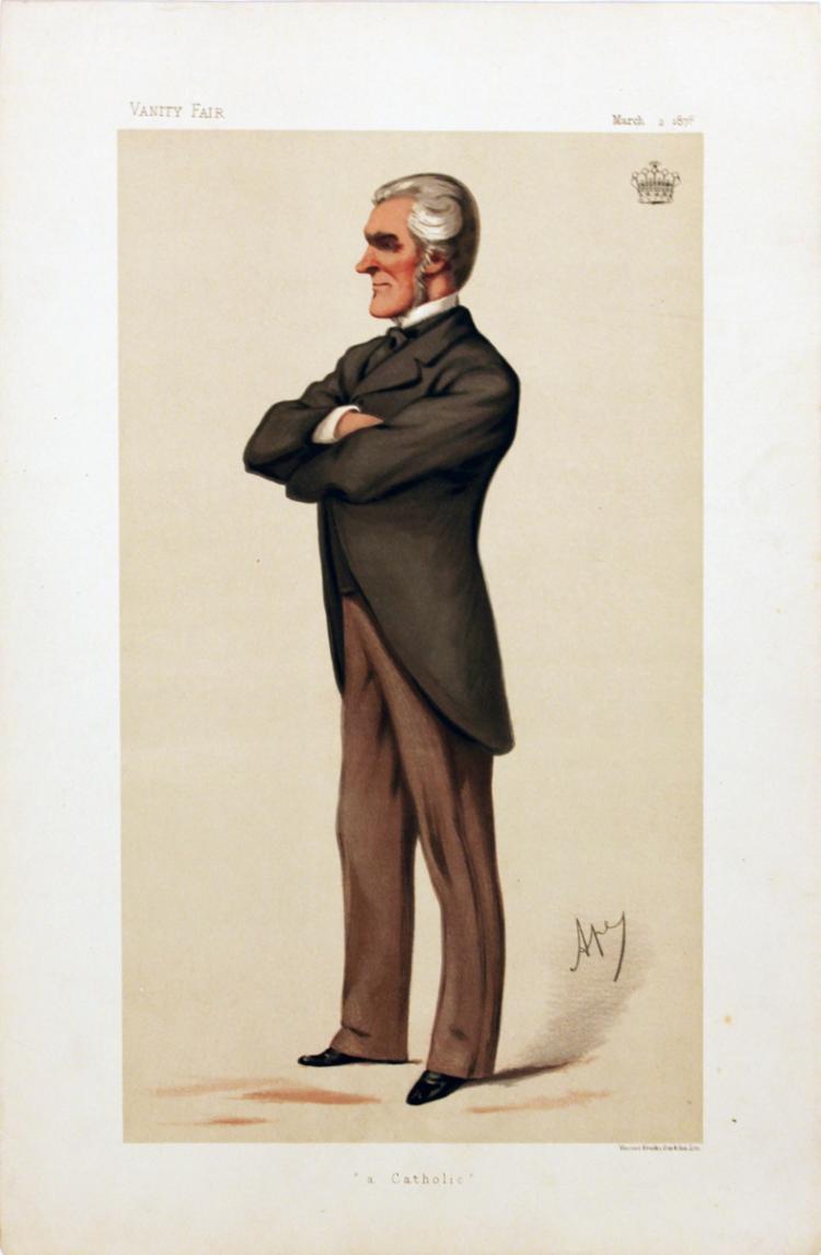 Carlo Pelligrini - Vanity Fair: The Earl of Denbigh - 1878
