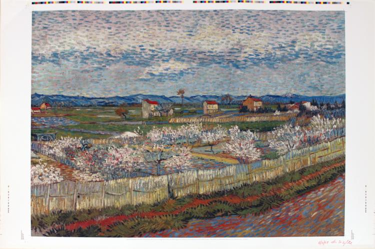 Vincent van Gogh - Peach Blossoms in the Crow - 2007