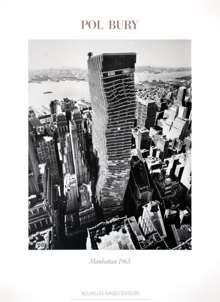 Pol Bury - Manhattan Decoupage (1965) - 1985