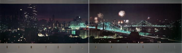 Jay Maisel - New York (Diptych) - 1984