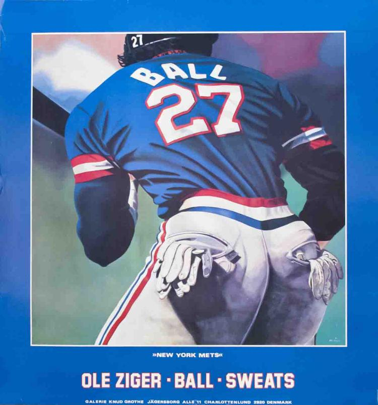 Ole Ziger - Ball and Sweats (New York Mets)