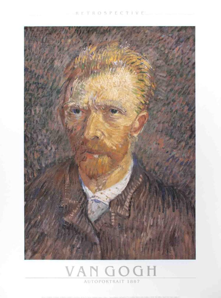 Vincent van Gogh - Self-Portrait - 1989