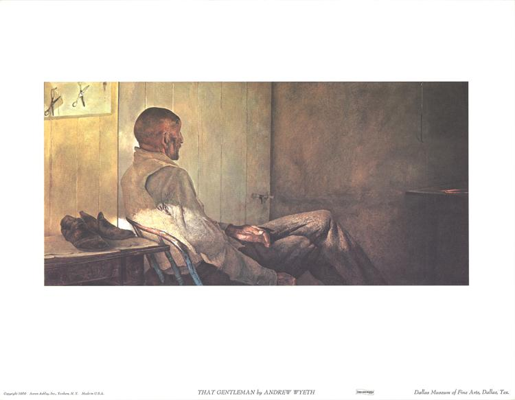 Andrew Wyeth - That Gentleman