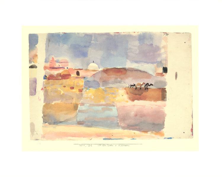 Paul Klee - Vor den Toren v. Kairuan