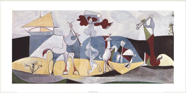 Pablo Picasso - La Danza - 1981
