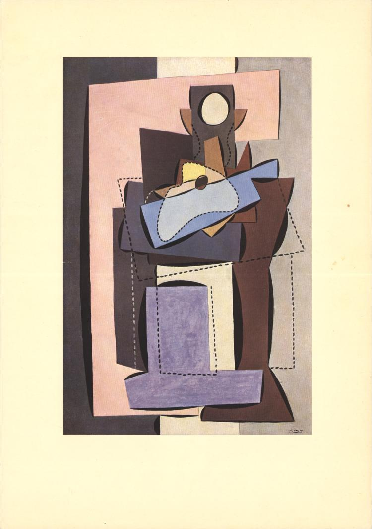 Pablo Picasso - The Fireplace