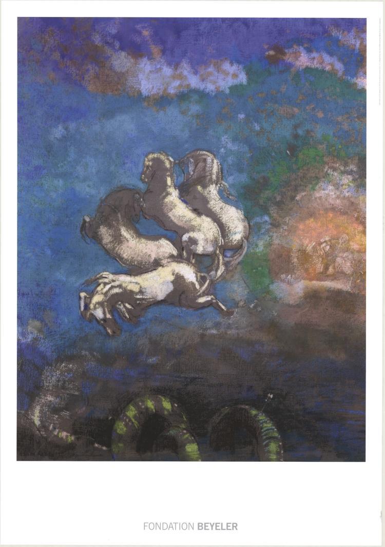Odilon Redon - Le Char d'Apollon - 2014