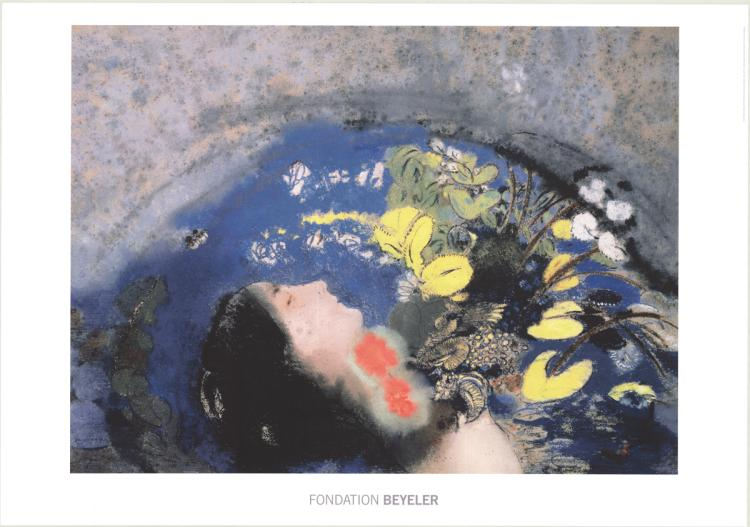 Odilon Redon - Ophelie - 2014