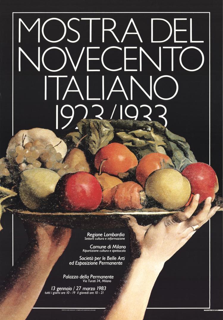 Mostra Del Novecento Italiano - 1983