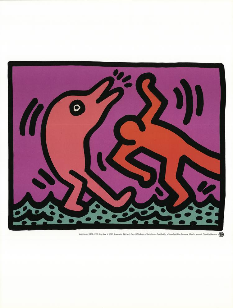 Keith Haring - Pop Shop V