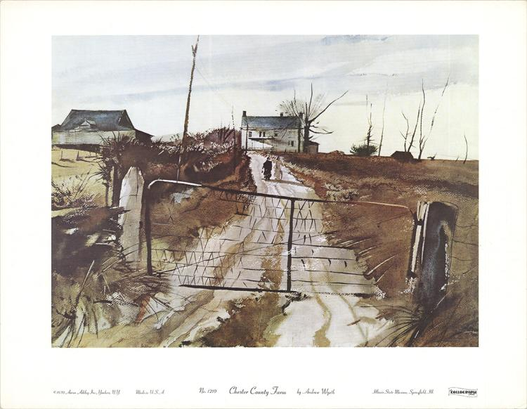 Andrew Wyeth - Chester County Fair - 1965
